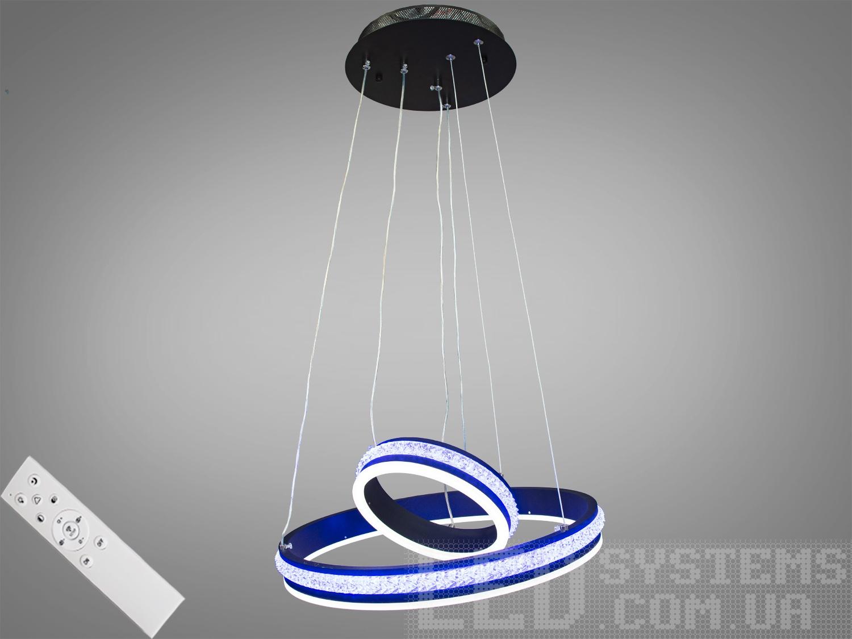 Современная светодиодная люстра с диммером, 85WСветодиодные люстры, Люстры LED, Подвесы LED, Новинки