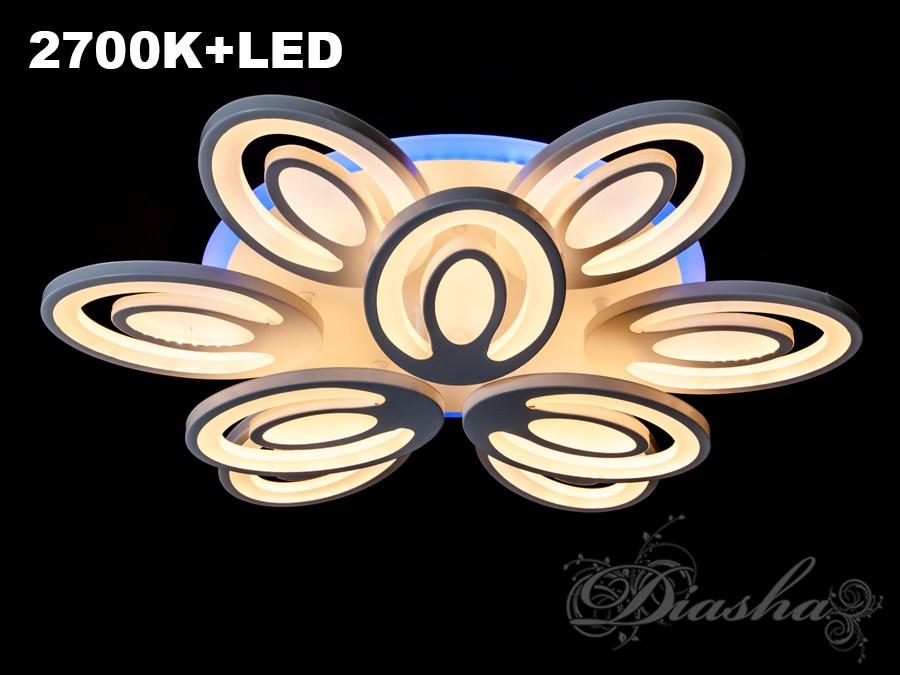 Сверхъяркая светодиодная люстра с цветной подсветкой 195W. Сверхъяркая светодиодная люстра с цветной подсветкой 195W Всего за 1960грн.