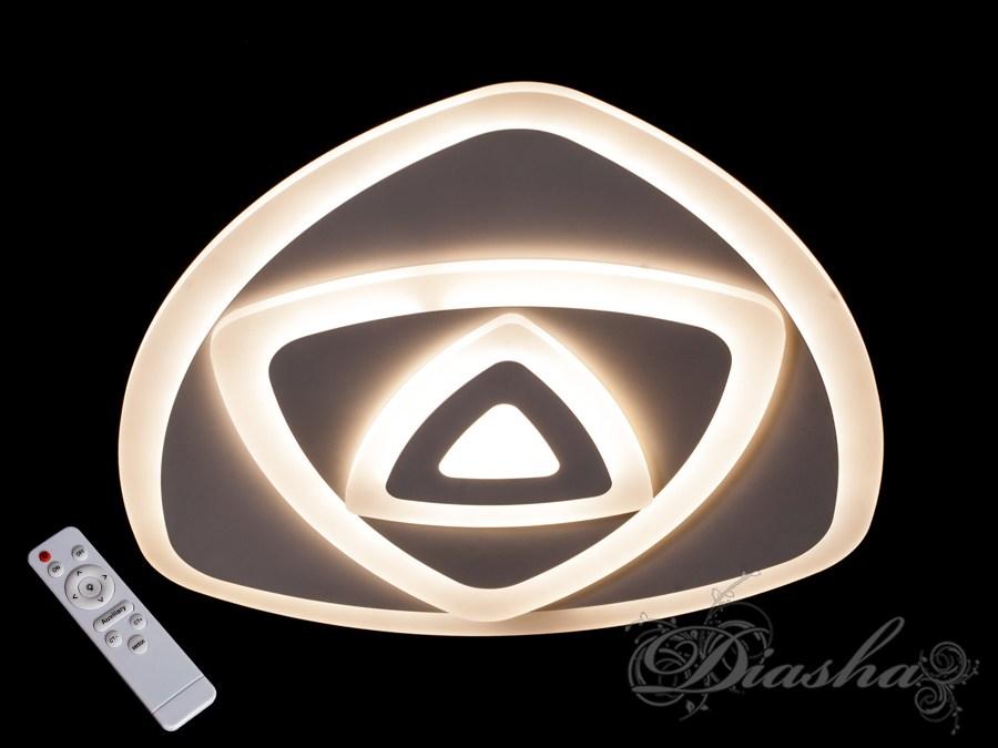 Потолочная светодиодная люстра с диммером 75W. Потолочная светодиодная люстра с диммером 75W Всего за 1960грн.