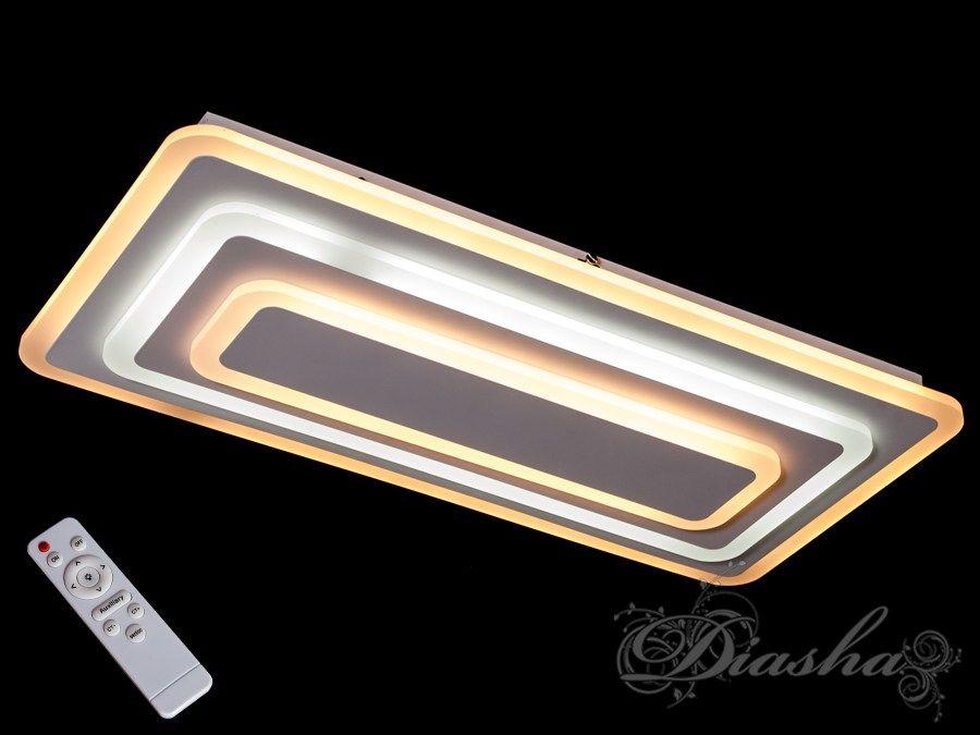 Потолочная светодиодная люстра с диммером 90W. Потолочная светодиодная люстра с диммером 90W Всего за 1800грн.