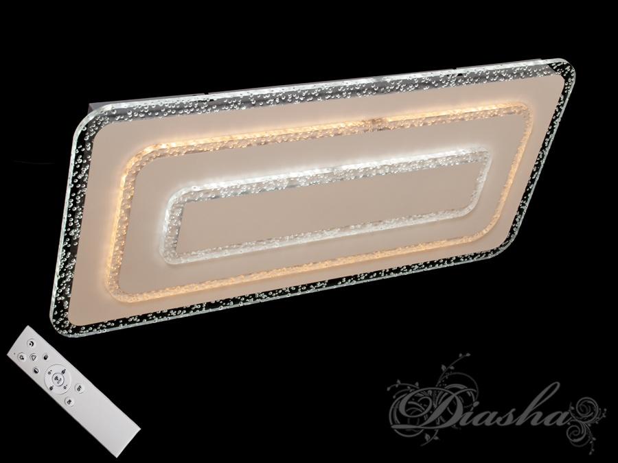 Потолочная светодиодная люстра с диммером 95W. Потолочная светодиодная люстра с диммером 95W Всего за 2560грн.