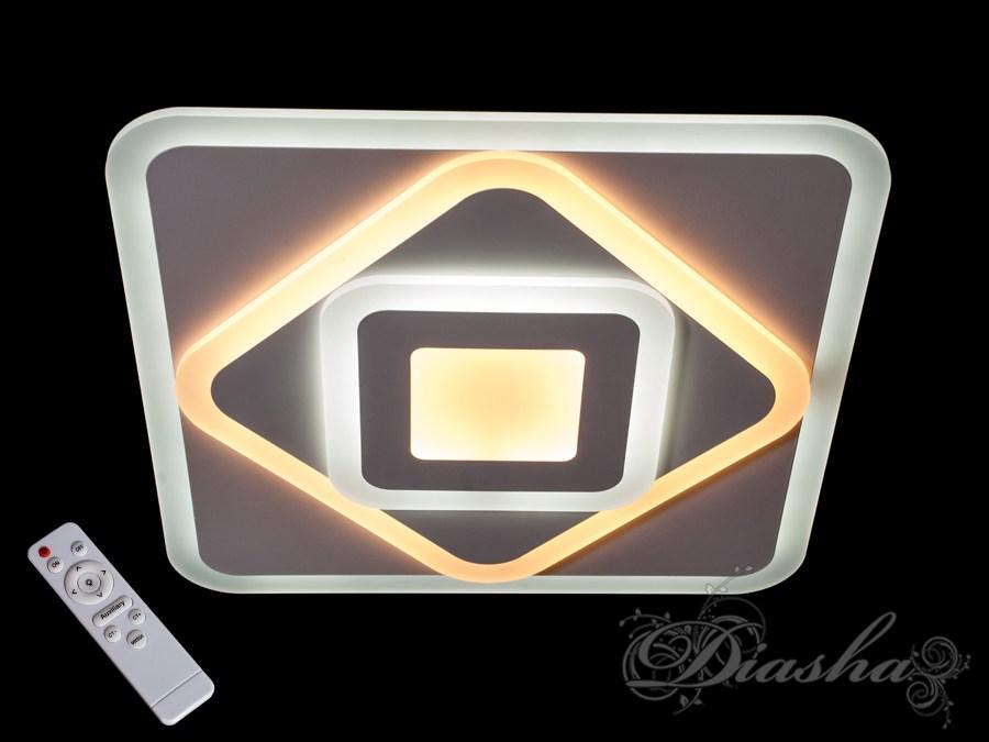 Потолочная светодиодная люстра с диммером 105W. Потолочная светодиодная люстра с диммером 105W Всего за 2080грн.