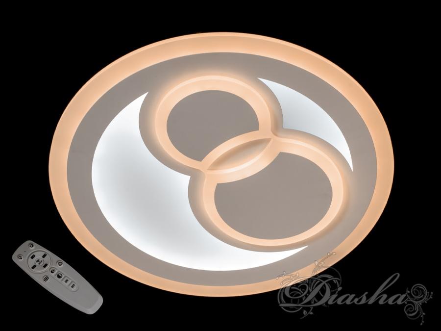 Потолочная светодиодная люстра с диммером 105W. Потолочная светодиодная люстра с диммером 105W Всего за 1960грн.