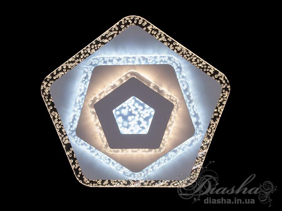 Потолочный светодиодный светильник 50WПотолочные люстры, Светодиодные люстры, Люстры LED, Потолочные, светодиодные панели, Новинки