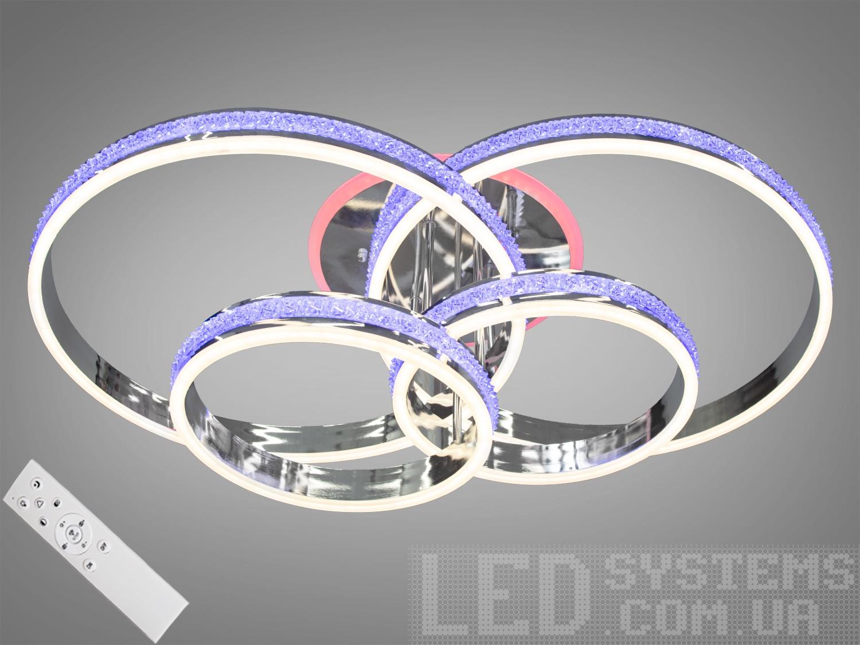 Потолочная светодиодная люстра с диммером 260WПотолочные люстры, Светодиодные люстры, Люстры LED, Потолочные