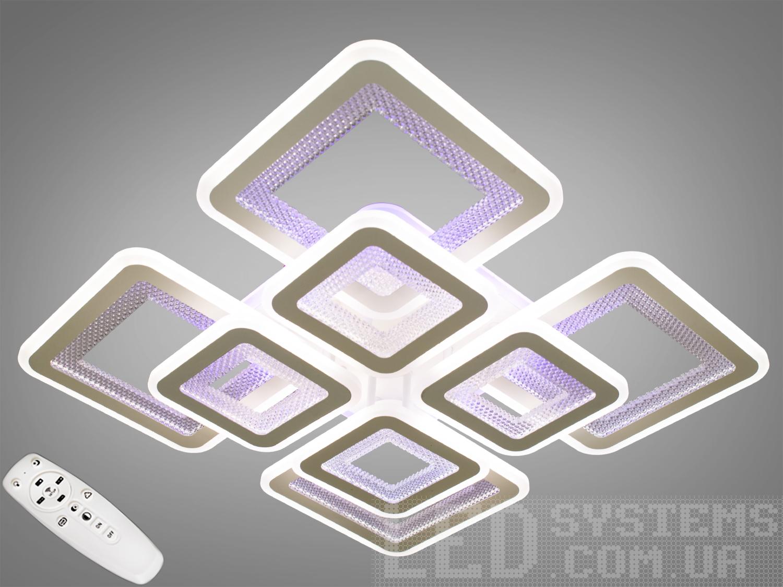 Потолочная светодиодная люстра с диммером 280WПотолочные люстры, Светодиодные люстры, Люстры LED, Потолочные, Новинки