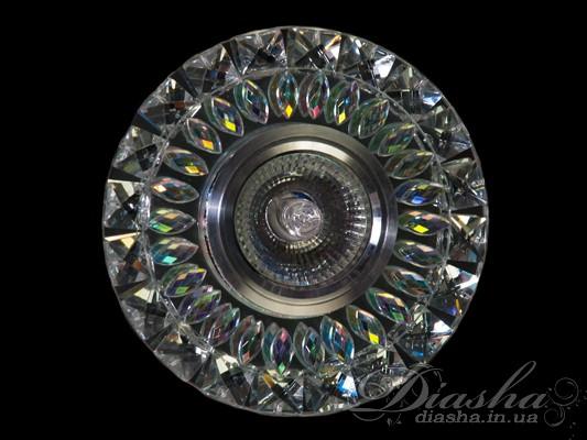 Хрустальный точечный светильникВрезка, Точечные светильники, Серия SBT, Точечные светильники MR-16