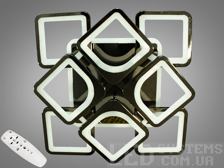 LED-люстра с диммером и RGB подсветкой, 145WСерия