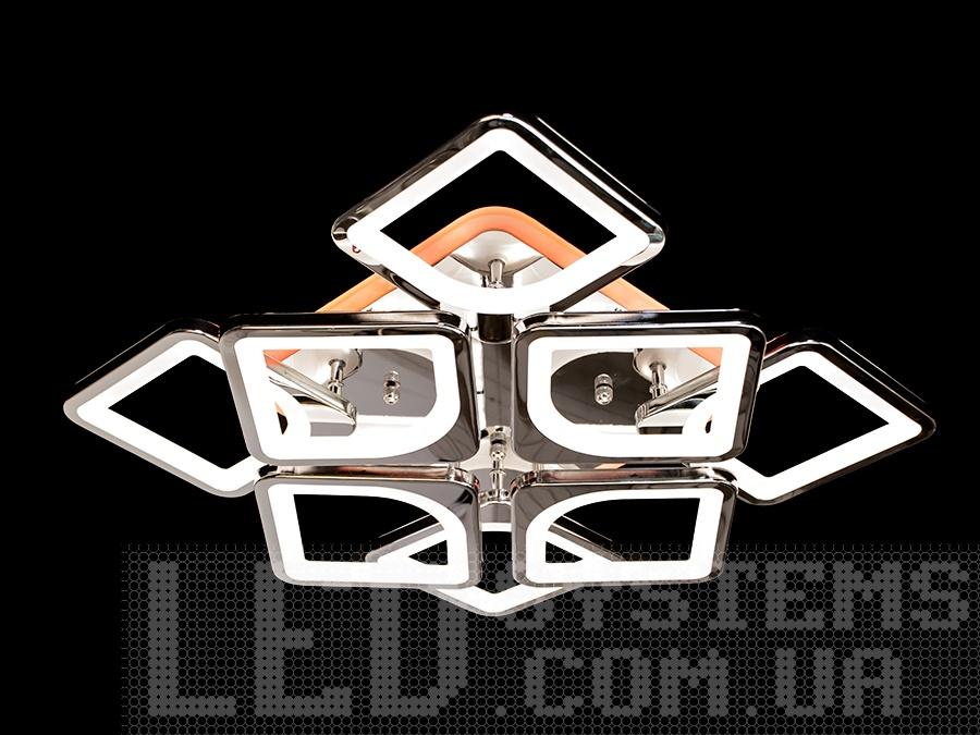 Светодиодная люстра в стиле хай-тек с подсветкой, 145W на 20 кв.м. Светодиодная люстра в стиле хай-тек с подсветкой, 145W на 20 кв.м Всего за 2070грн.