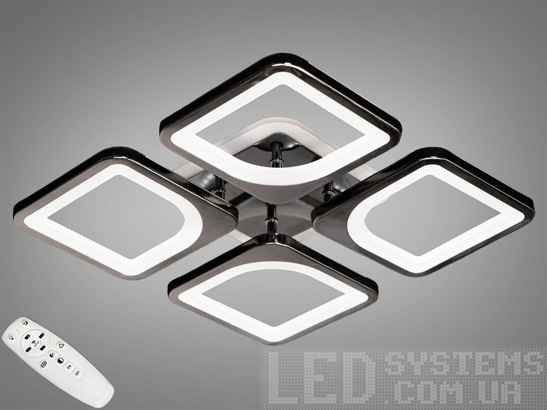 LED-люстра с диммером и RGB подсветкой, 75WСерия